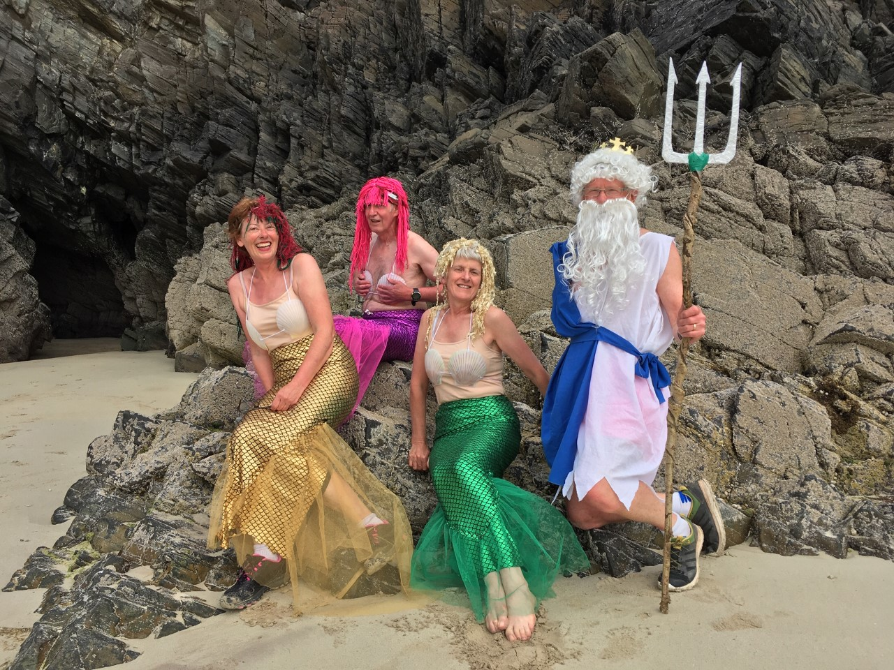 Beach Run Fancy Dress